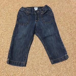 Girls Capri jeans